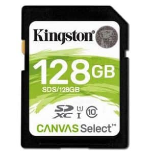 Kingston SDXC 128GB Canvas - SD-Kaart.nl
