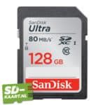 SD-kaart – SanDisk Ultra 128GB-1