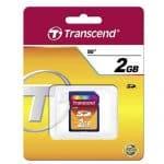 Transcend SD 2GB geheugenkaart kopen?