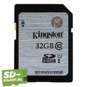 sd kaart Kingston SDHC 32GB geheugenkaart 1