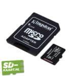 Kingston Micro SD kaart Canvas Select-128GB-2-adapter
