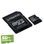 Kingston Micro SD kaart Canvas Select-16GB-2-adapter