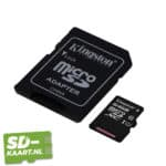 Kingston Micro SD kaart Canvas Select-64GB-2-adapter