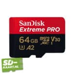 sd kaart SanDisk Extreme pro 64GB 1 1