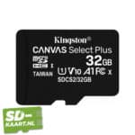 Kingston Canvas plus 32GB