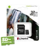Kingston Canvas plus 32GB 3