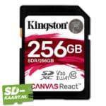 Kingston Canvas react 256 GB 1