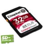 Kingston Canvas react 32 GB 2