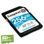 Kingston canvas go 256 GB 2