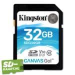 Kingston canvas go 32 GB 1