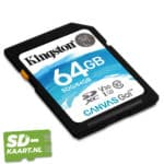 Kingston canvas go 64 GB 2