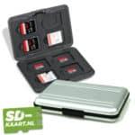 SD-kaart en micro SD kaart houder zilver 1