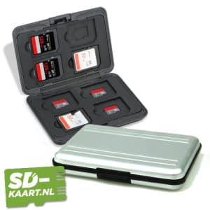 SD kaart en micro SD kaart houder zilver 1