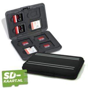 SD kaart en micro SD kaart houder zwart 1