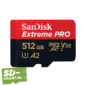 sd kaart SanDisk Extreme pro 512 GB 1